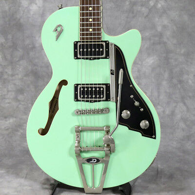 Duesenberg Starplayer V Surf Green Electric Guitar With Softcase 1 280 00 Picclick