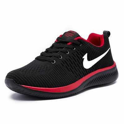 New Mens Fashion Sports Sneakers Breathable Mesh Athletic Sneakers Running Shoes