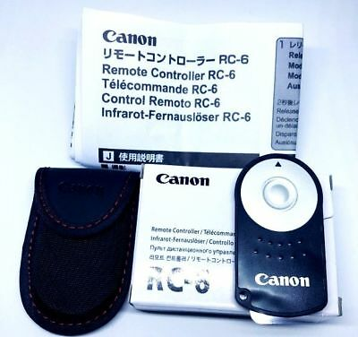RC-6 CANON Wireless Remote Control for EOS M 5D Mark II/III 6D 7D 400D 700D 750D