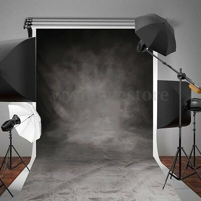 5x10FT Large Retro Grey Vinly Backdrop Photography Studio Props Photo Background