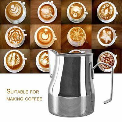Stainless Steel Pitcher Craft Frothing Jug Milk-frothing Pitcher Measuring CupOI