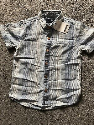 Next boys shirt brand new with tag age 3-4