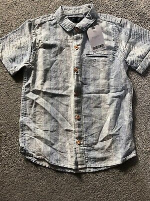 Next boys shirt brand new with tag age 5-6