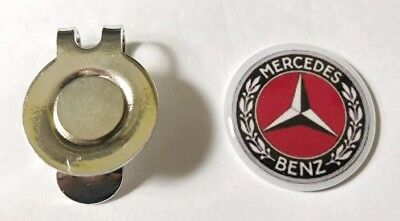 Mercedes Benz Golf Hat Clip and Marker