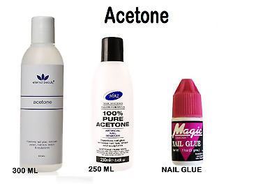 100%Pure Acetone Superior Quality Nail Polish Remover UV/LED Nail Polish Cleaner