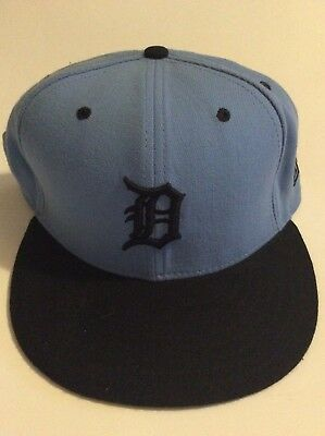 sale retailer 8bd1c cebbd Detroit Tigers New Era Authentic MLB Fitted Hat Cap 59Fifty sz. 7 1 2