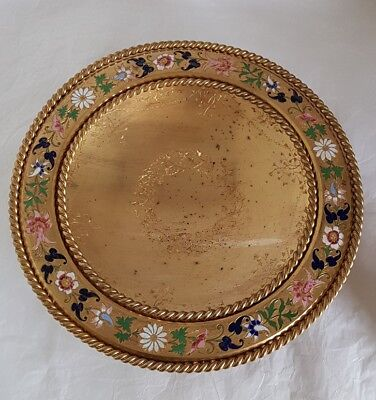 A late C19th French Gilded Ormolu Compotier / Tazza .