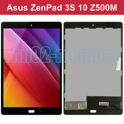 Per ASUS ZenPad 3S 10 Z500M P027 LCD Touch Screen Assembly Nero rhn02