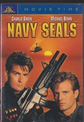 Used DVD Movie - NAVY SEALS - Charlie Sheen