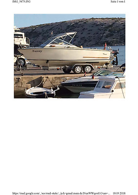 Motorboot, Coronet DC21, (keine SeaRay, Windy oder Bayliner)
