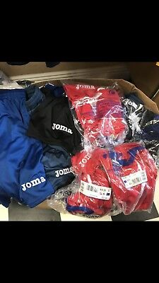 Job Lots Mens Sports Football Shorts Joma Approx 50 Pairs All Colours Xxs - Xxl