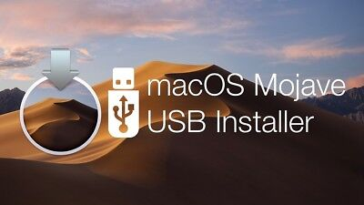 Install macOS Mojave, Bootable USB Installer - Macbook Pro / Air / iMac / Mini