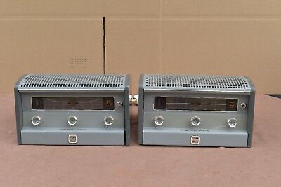 Pair of Philips AG9006 tube amplifiers from Klangfilm era
