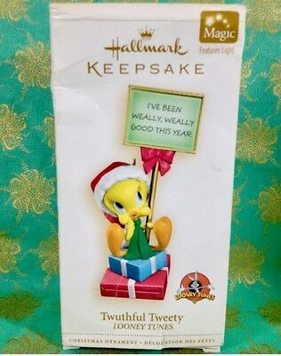 Hallmark Christmas Ornament Looney Tunes Tweety