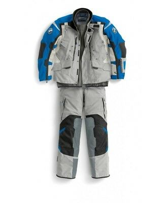 BMW Motorrad 2018 Rallye Blue/Grey Textile Suit-All Sizes - New & Free Shipping