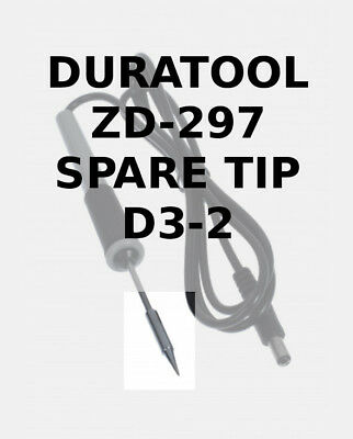 D3-2 Replacement Spare Tip for Duratool ZD-927 Solder Station / Iron D03172 NEW
