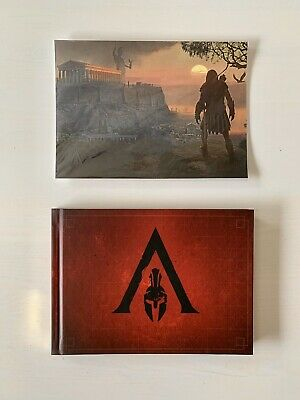 Assassin's Creed Odyssey Spartan Edition Lithograph Litho New Assassins