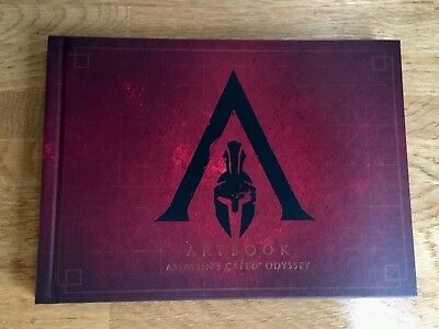 Assassin's Creed Odyssey Spartan Edition Hardcover Artbook New