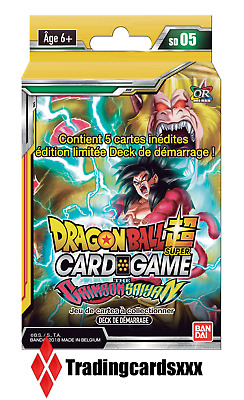 ♦Dragon Ball Super Card Game♦ Deck de Démarrage : The Crimson Saiyan - VF/SD05