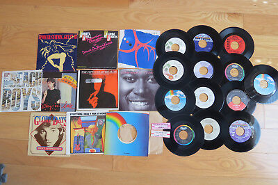 "45's RPM Records - Vinyl 7"" - Covers / Records Entire lot - Jukebox"
