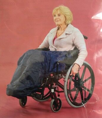 Deluxe Wheelchair Apron with Elasticated Waist Lined for Warmth and Comfort