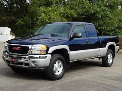 2006 GMC Sierra 1500 1500 SLE Z71 4X4 4WD EXT CAB PICKUP TRUCK 85K Mls! TOW PACK BOSE SOUND COLD AC DUAL CLIMATE CONTROL CD-PLAYER DIGITAL COMPASS CLEAN