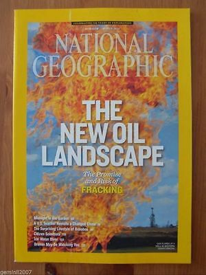 NATIONAL GEOGRAPHIC MAGAZINE - March 2013 - Fracking, Bonobos, Drones - VVGC
