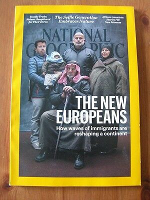 NATIONAL GEOGRAPHIC MAGAZINE -  October 2016 - World Culture Travel  VVGC
