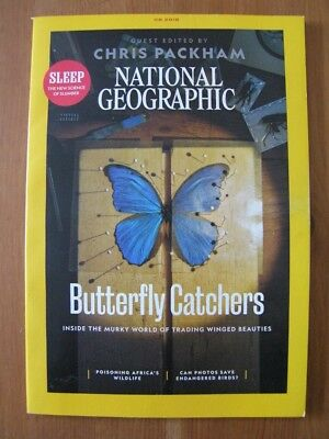 NATIONAL GEOGRAPHIC MAGAZINE - AUGUST 2018 - Science of Sleep / Chris Packham
