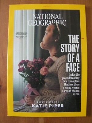 NATIONAL GEOGRAPHIC MAGAZINE - SEPTEMBER 2018 - Face Transplant / Katie Piper