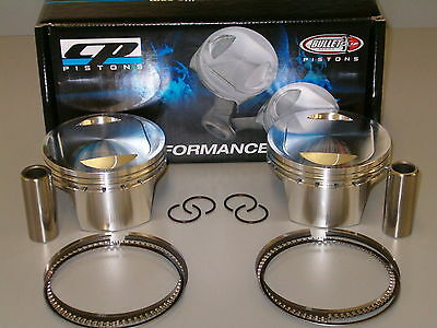 Cp Carrillo Pistons 12.5 Cr Harley Davidson Twin Cam 107 Forged Bhm107-18