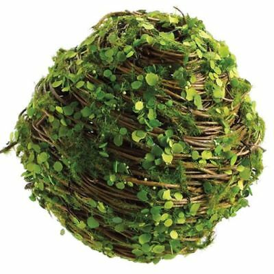 "5.5"" Twig w/Mini Leaf Ball-Shaped Artificial Topiary (pack of 6)"