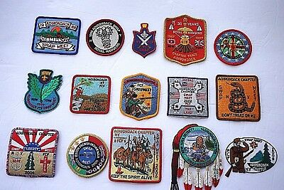 Royal Ranger NY Swamp Meet Patches Assorted years between '98-'09 D2 P22