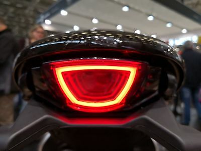 Ducati Scrambler 800, 2015+ Smoked LED Tail light Tail Light 'E' 'CE'