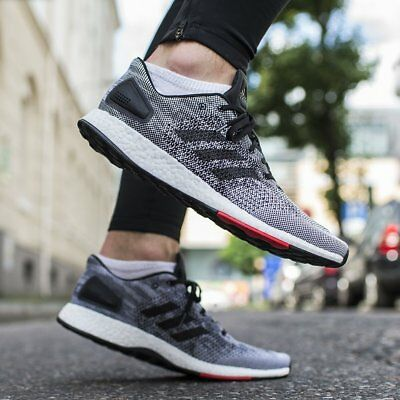 60cad7caa31ee NEW Adidas PureBoost DPR BOOST Men s Running Shoes Core Black White Red  S80993