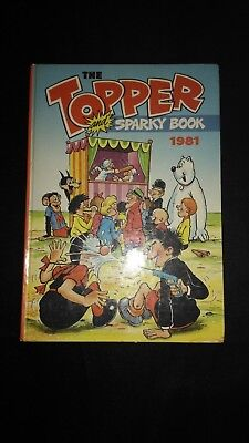 The Topper and Sparky Book, Vintage Annual 1981