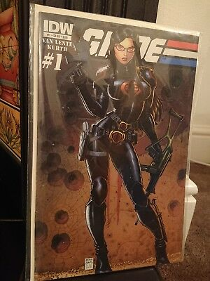 IDW G.I. Joe #1 Sub Cover The Baroness