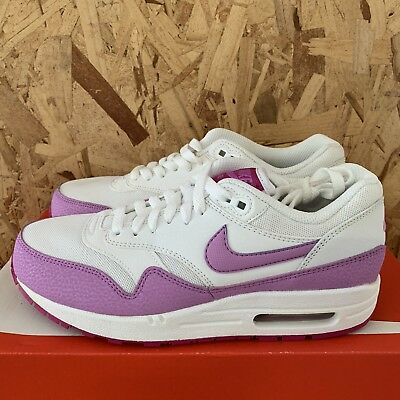 best authentic 12bb3 13fa8 Nike Womens Air Max 1 Essential - White   Fuchsia Glow Size 7.5 New