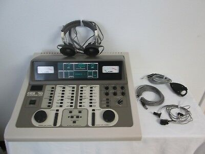 Grason-Stadler GSI 16 1716 Audiometer With Accessories - As Pictured