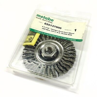 655137000 Metabo Wire Wheel Brush