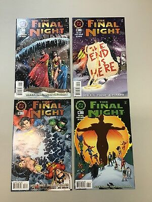The Final Night Superman 1-4 Complete Set 1 2 3 4 DC comics 1996