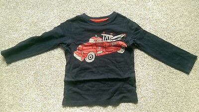 GAP Waffle Texture Boys Top T-Shirt Long Sleeve Stretch Fit Cotton Kids BNWT