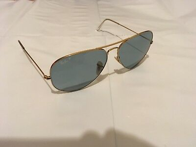 RB3025 Ray-Ban Sunglasses Aviator Gold Frame   Blue Polarized 001 3R 62  251a1845f3