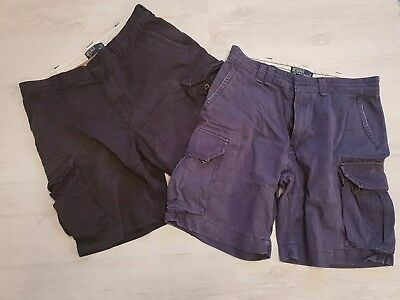 2 Pairs Of Ralph Lauren Shorts 36w