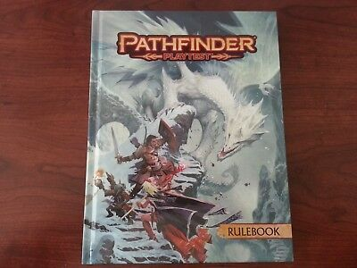 PATHFINDER RPG 2ND Edition: base/core Rulebook PLAYTEST Hardcover