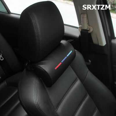 For BMW x5 x6 f15 e70 ///M Car Seat Rest Cushion Headrest Neck Pillow M Style LB