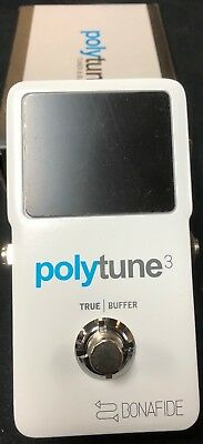 TC Electronic Polytune 3 Pedal Tuner Authorized Dealer