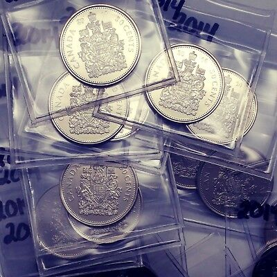 2014 Canada 50 Cent Coin From BU Roll Sealed In Acid-Free Package #coinsofcanada