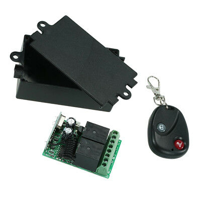 DC 12V 2CH 433Mhz Wireless Remote Control Switch Receivers and Transmitter
