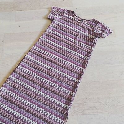 Vintage Style Purple Long Dress | Size Medium